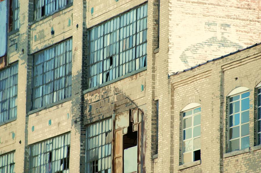 Urban Photograph - Shaw Walker Building by Ritter Photography And Fine Art Images