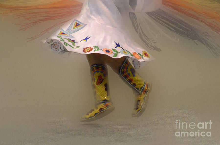 Shawl Dancer 8 Photograph  - Shawl Dancer 8 Fine Art Print