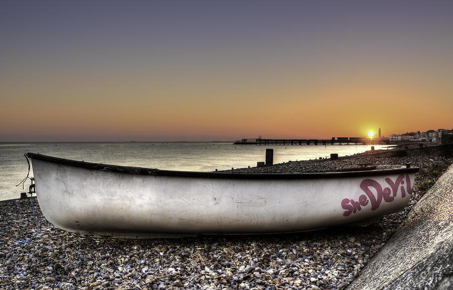 Boat Photograph - She Devil by Nigel Jones