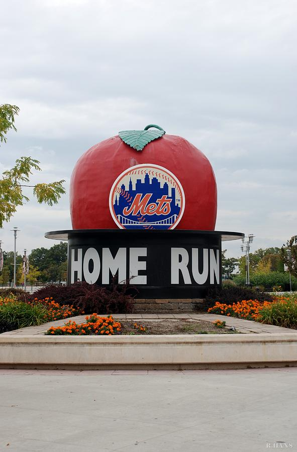 Shea Stadium Home Run Apple Photograph