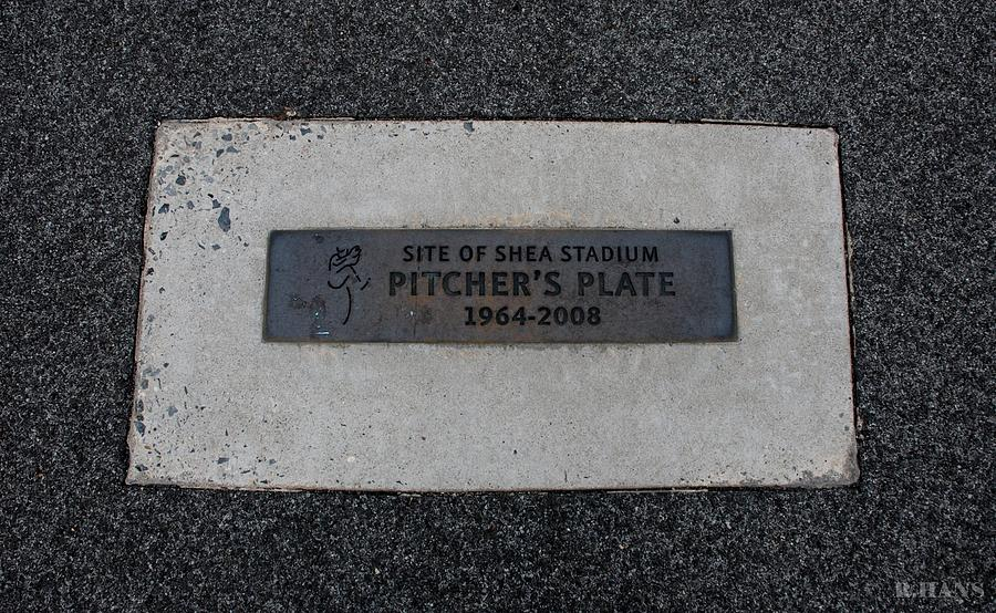 Shea Stadium Pitchers Mound Photograph