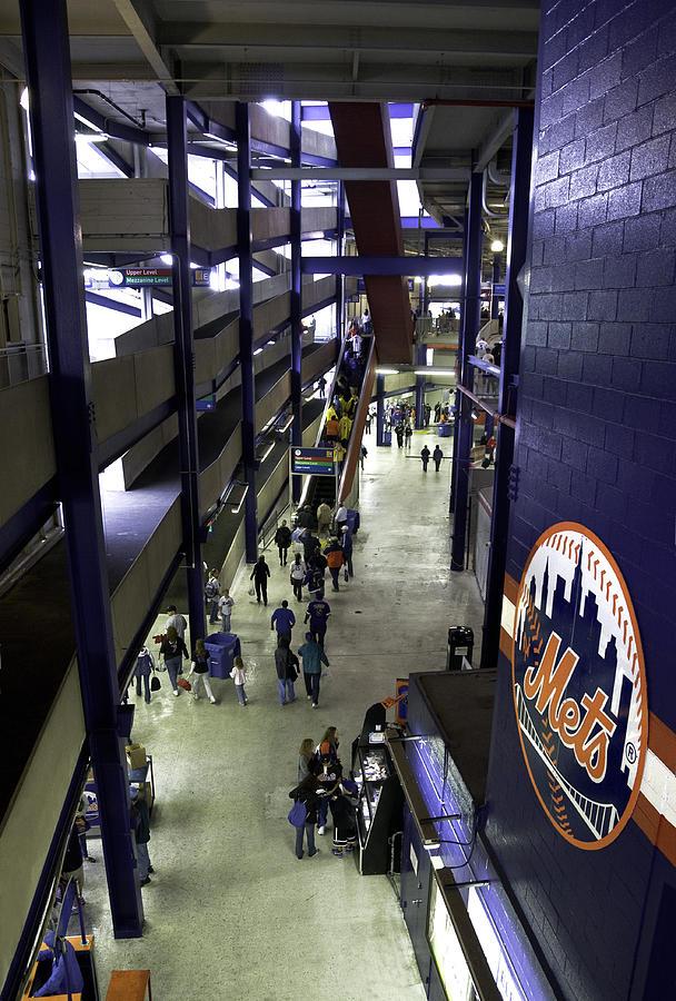 Shea Stadium Walkways Photograph