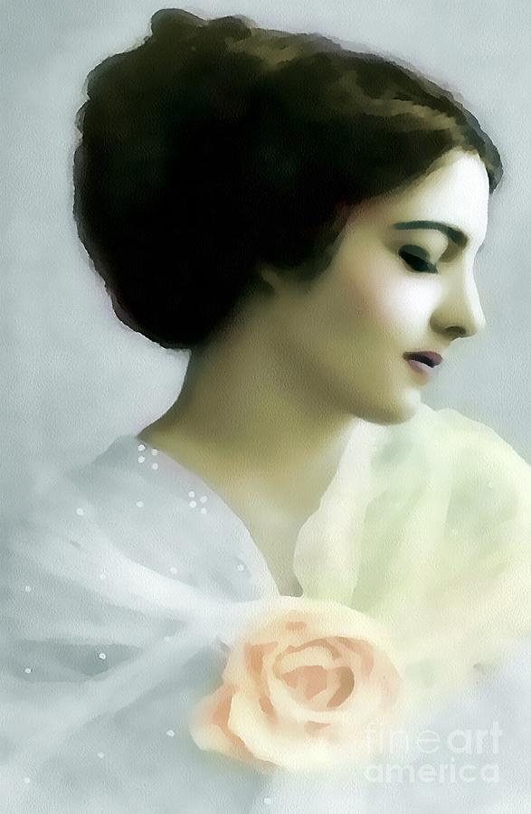 Sheer Elegance Painting  - Sheer Elegance Fine Art Print