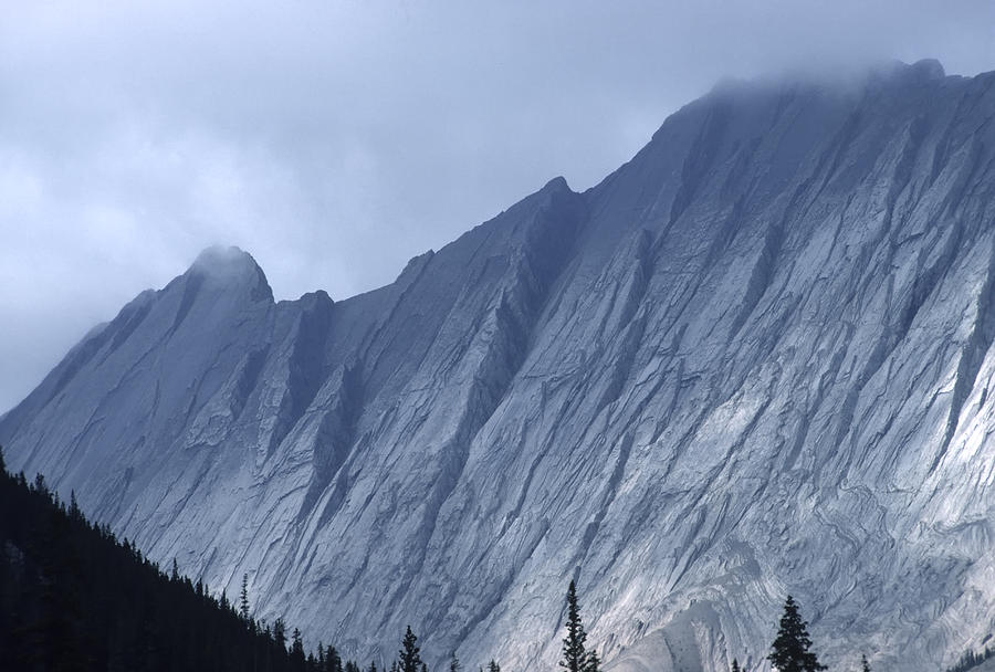 Sheer Mountain Face Photograph By Roderick Bley