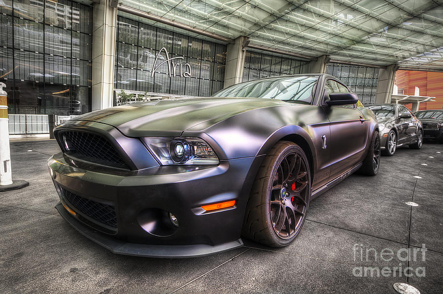 Shelby Gt500kr Photograph - Shelby Gt500kr by Yhun Suarez