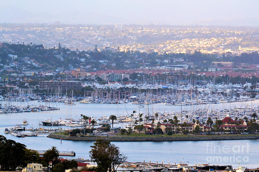 Shelter Island Point San Diego Photograph By Rj Aguilar