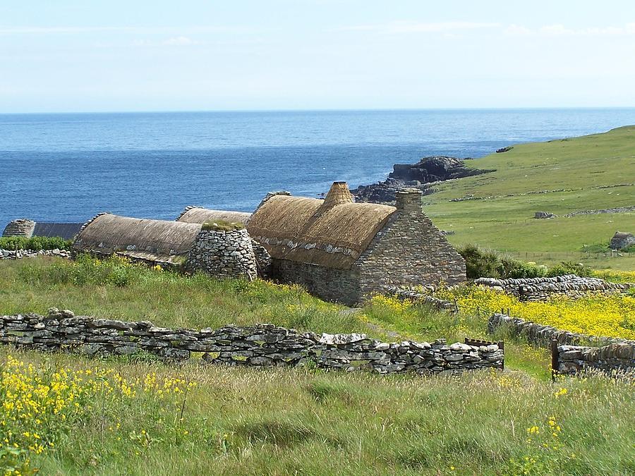Shetland Croft House Museum Photograph
