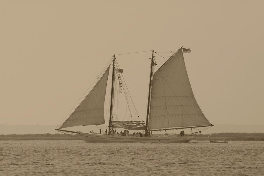 Sailing Ship Photograph - Ship 31 by Joyce StJames
