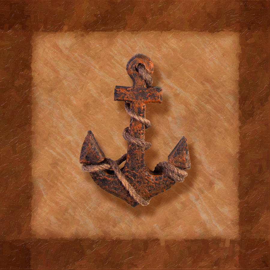 Ships Anchor Photograph