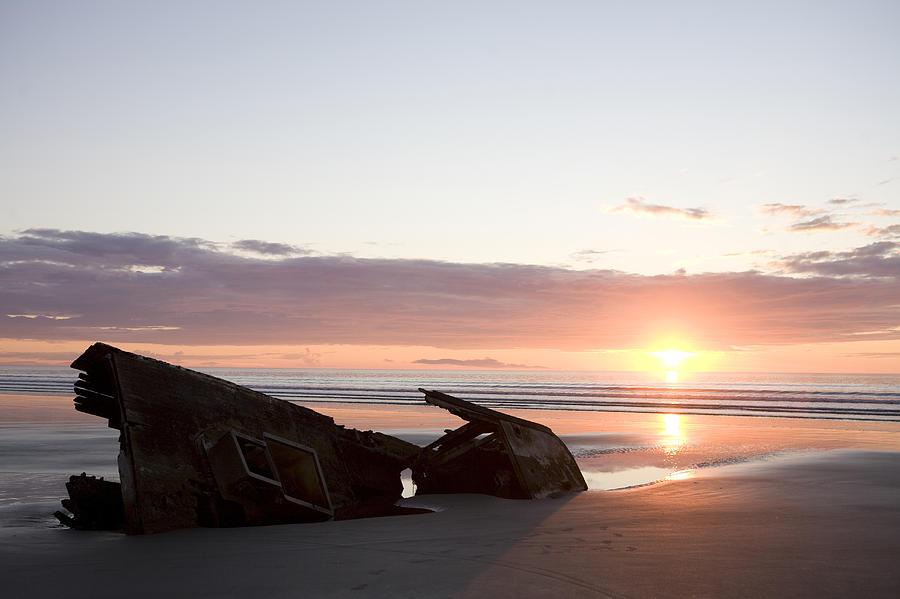 Shipwreck, Boats, Danger, Rotting Photograph