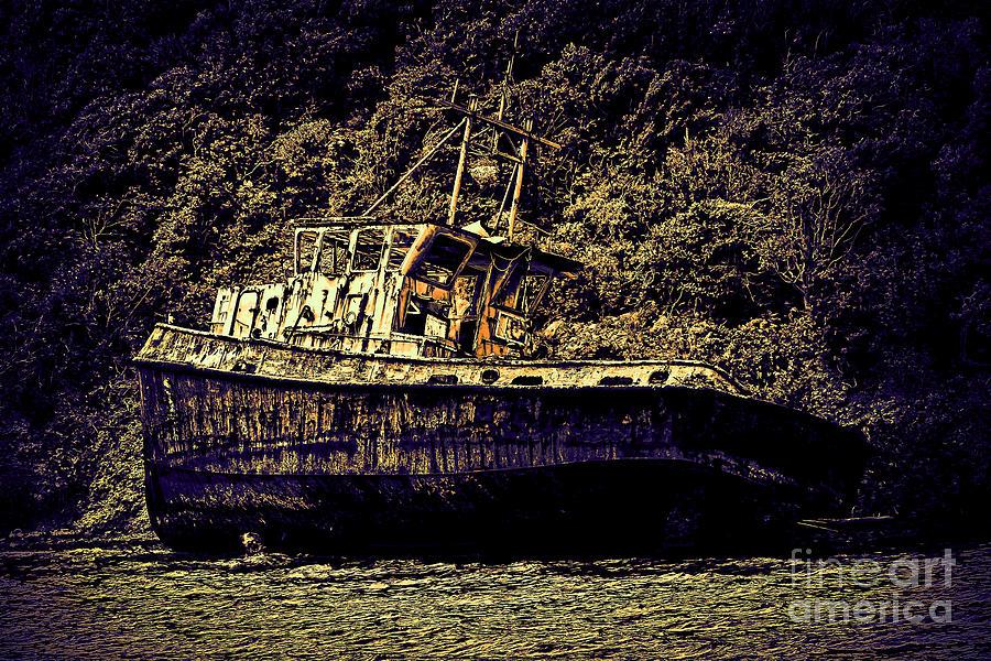 Shipwreck Photograph