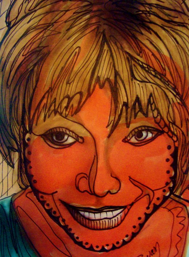 Shirley Mclaine Drawing