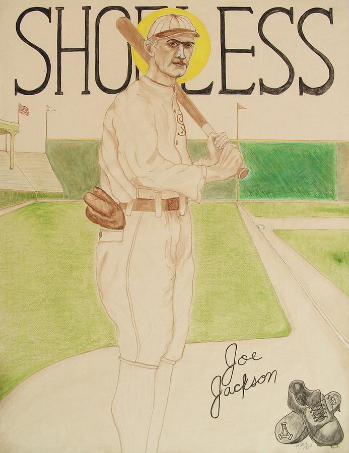 Shoeless Joe Jackson Painting