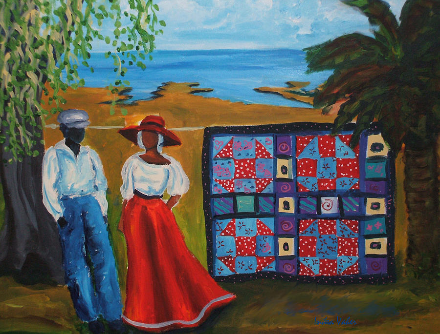 Shoofly Quilt Painting
