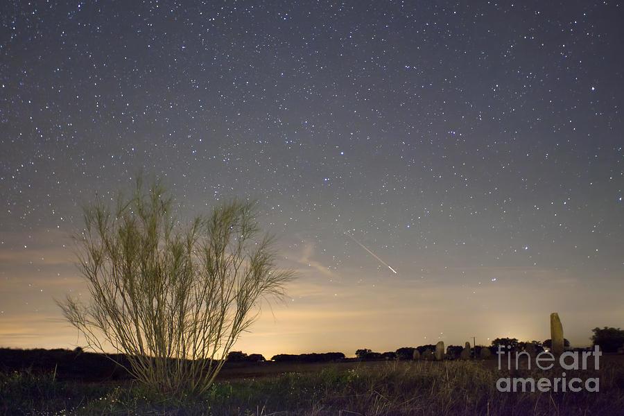 Shooting Star Photograph