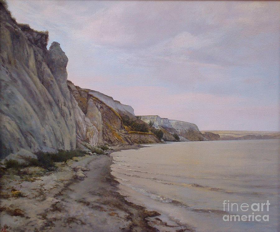 Shore Of The Volga Painting