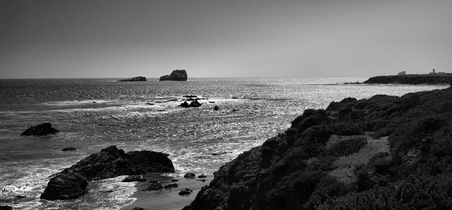 Ocean Photograph - Shoreline Near Piedras Blancas I by Steven Ainsworth