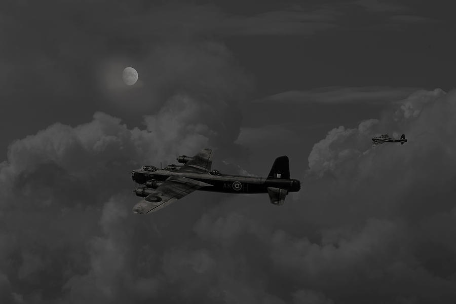 Short  Stirling - forgotten Bomber Digital Art  - Short  Stirling - forgotten Bomber Fine Art Print