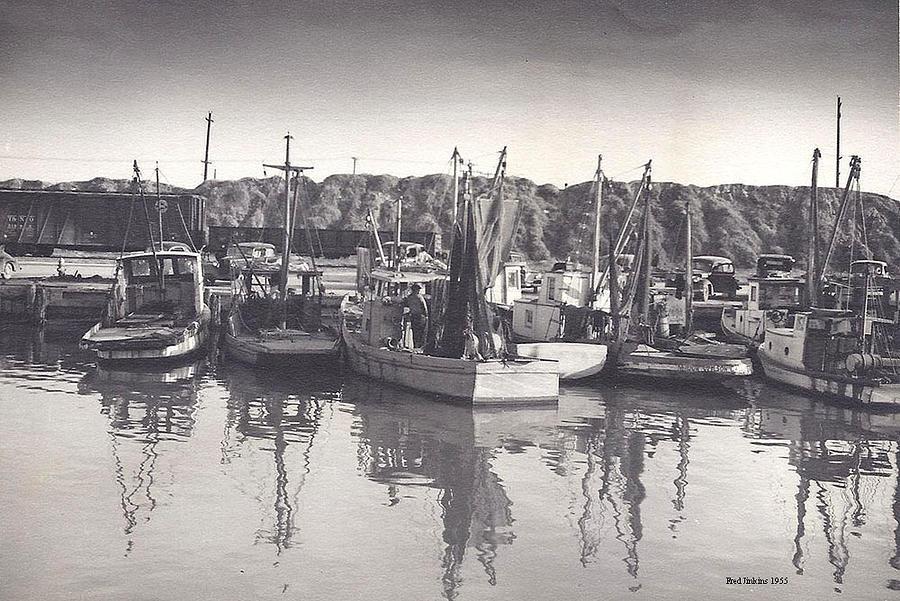 Shrimp Boats Mosquito Fleet Photograph