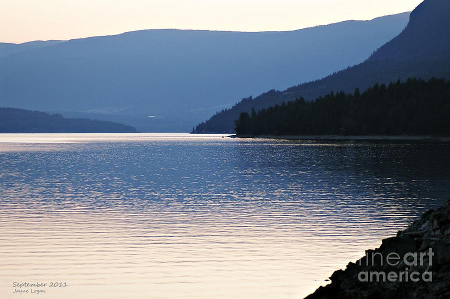 Shuswap Lake British Columbia Photograph