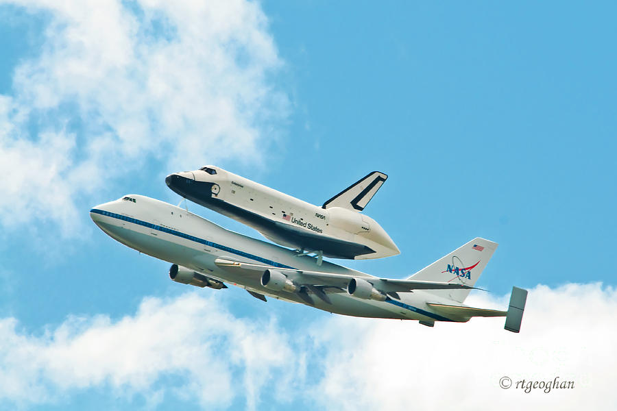 Shuttle Enterprise Comes To Ny Photograph  - Shuttle Enterprise Comes To Ny Fine Art Print