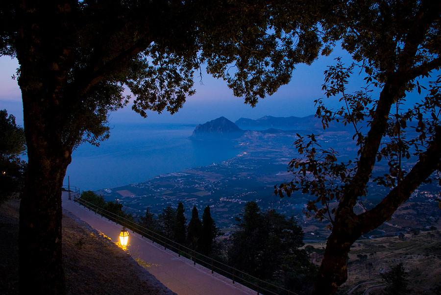 Sicilian Dusk Photograph
