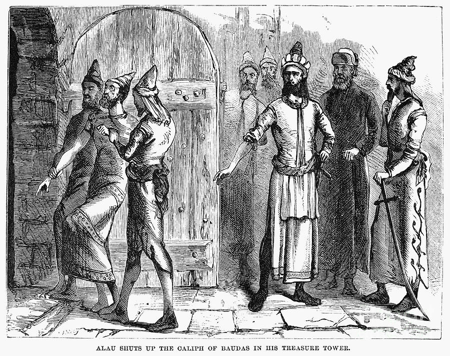 1258 Photograph - Siege Of Baghdad, 1258 by Granger