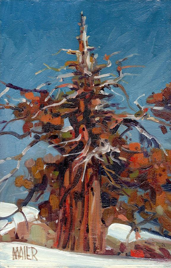 Sierra Juniper Painting