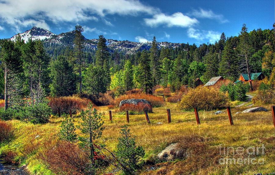 Sierra Nevada Fall Majesty Photograph