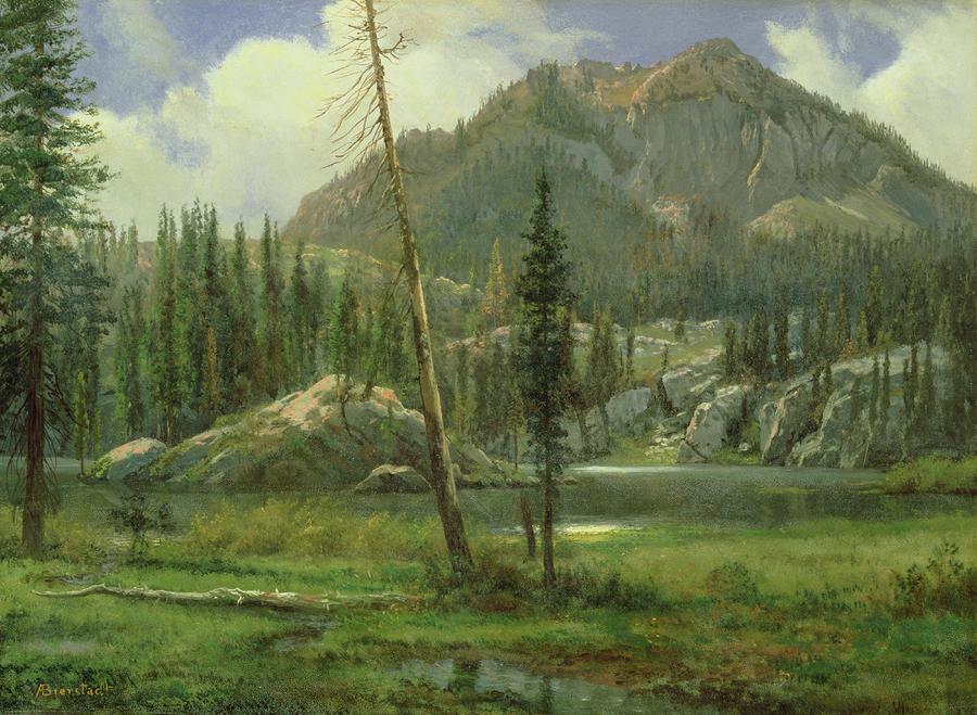 Sierra Nevada Mountains Painting