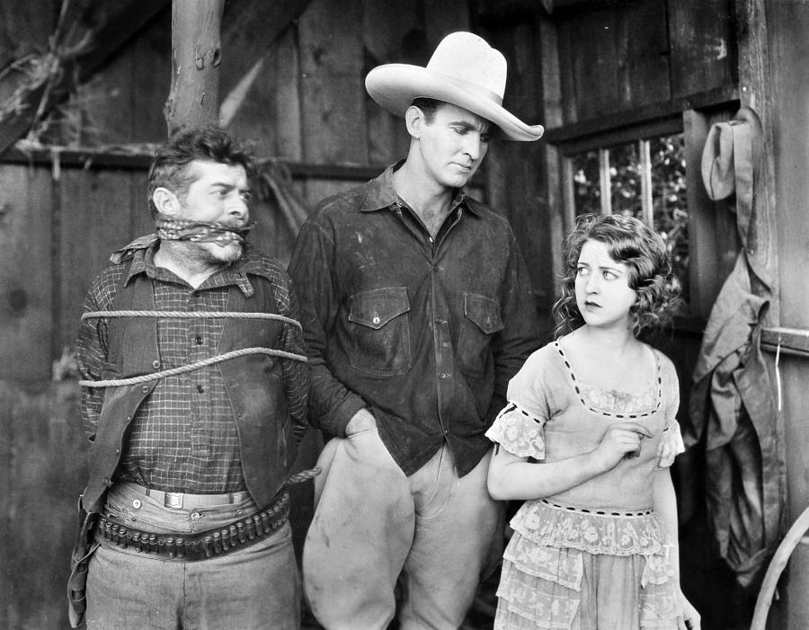 -cowboys- Photograph - Silent Film: Cowboys by Granger