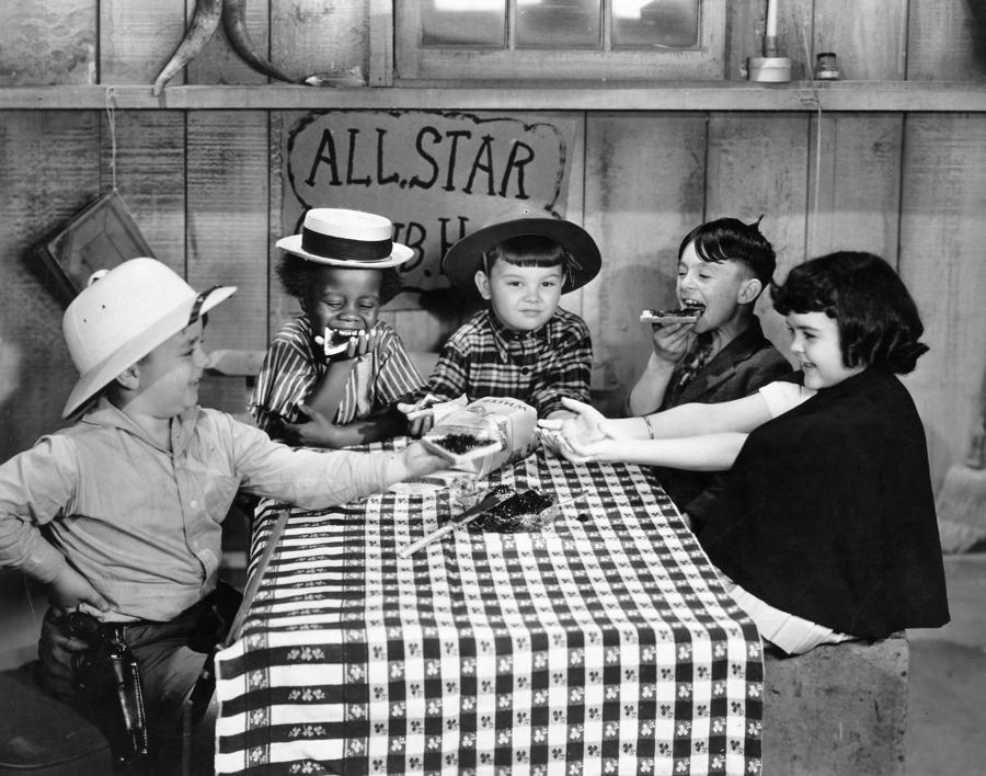 Silent Film: Little Rascals Photograph  - Silent Film: Little Rascals Fine Art Print