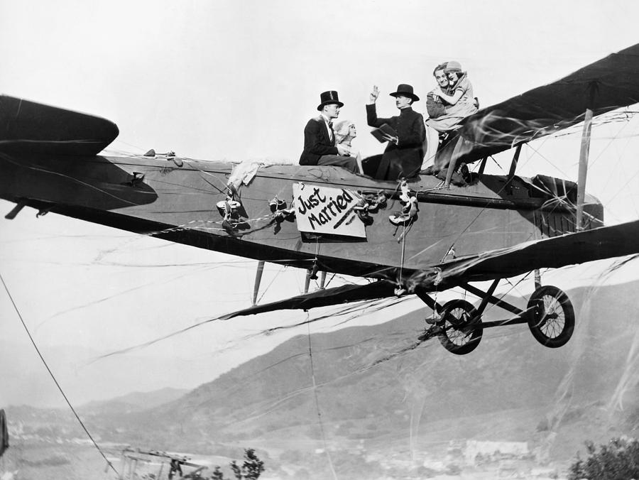 Silent Film Still: Stunts Photograph