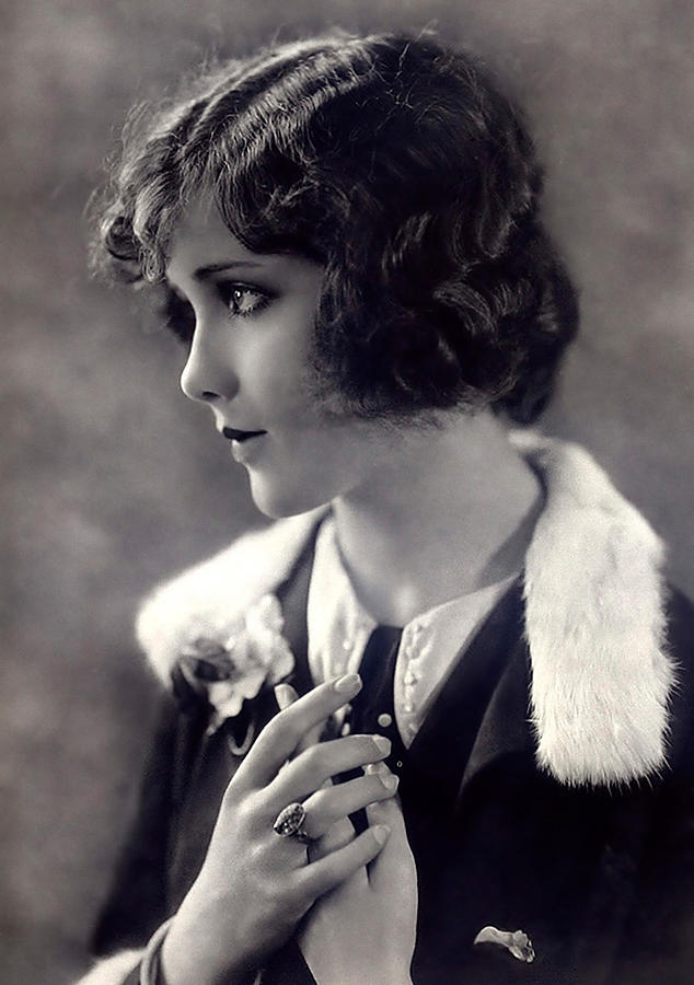 Silent Movie Star Photograph