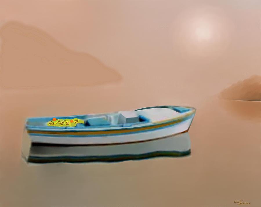 Silent Sea Painting