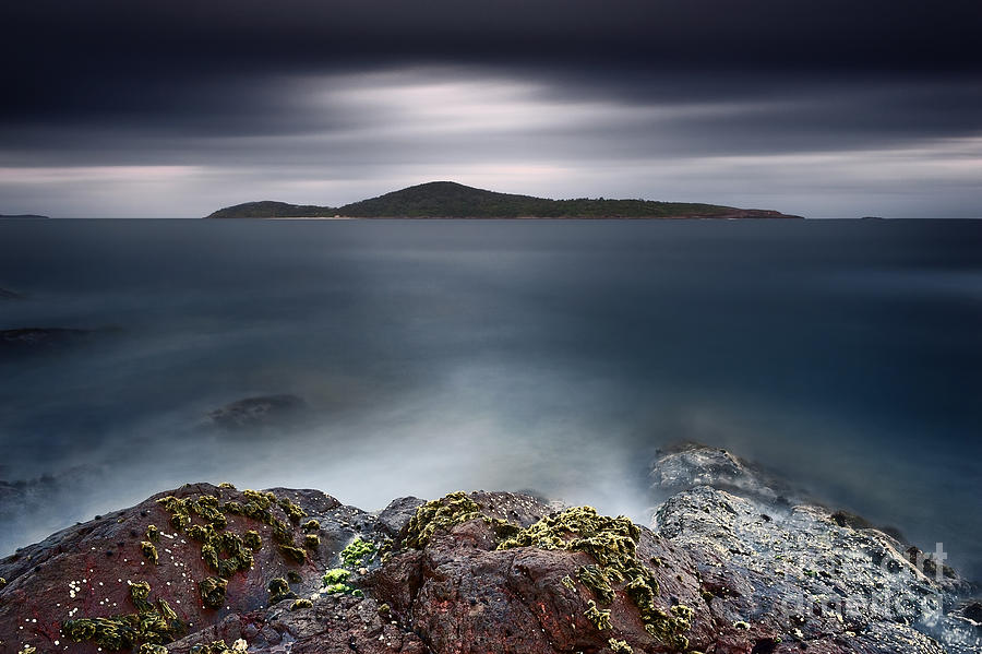 Fingal Bay Photograph - Silent Shores by Michael Howard