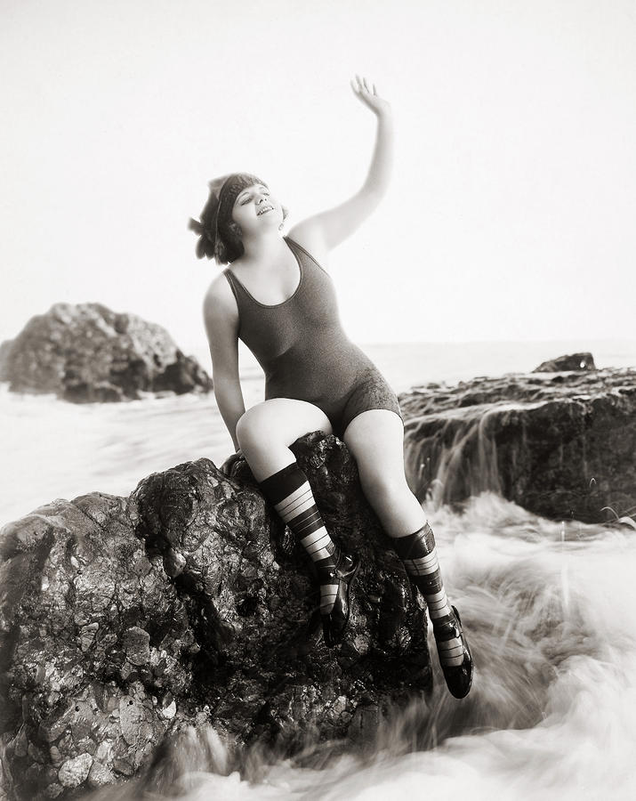 Silent Still: Bather Photograph