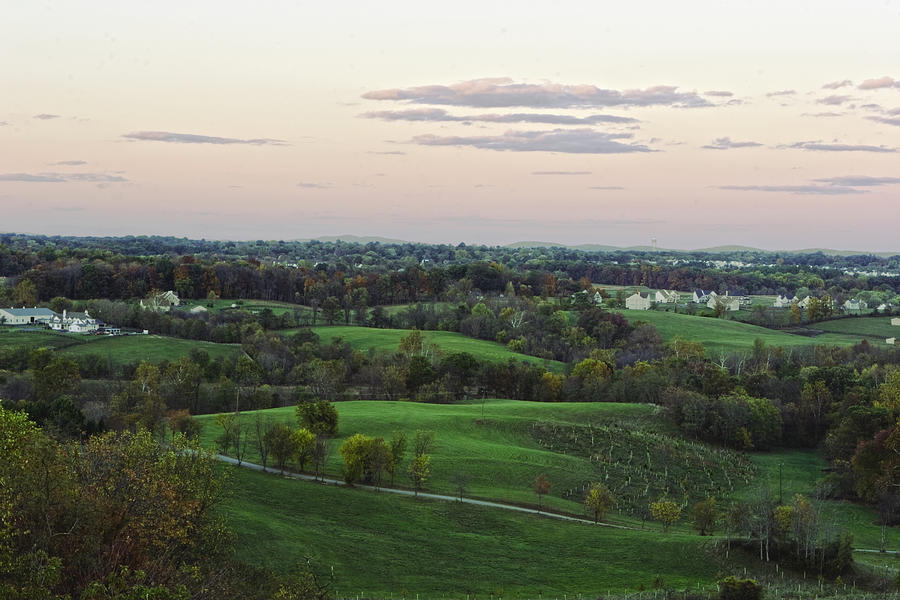 Rolling Hills Photograph - Silo View by Dave Levinson