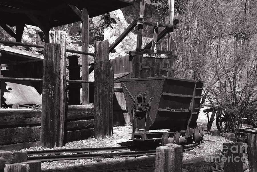 Silver Mining In Calico California Photograph  - Silver Mining In Calico California Fine Art Print