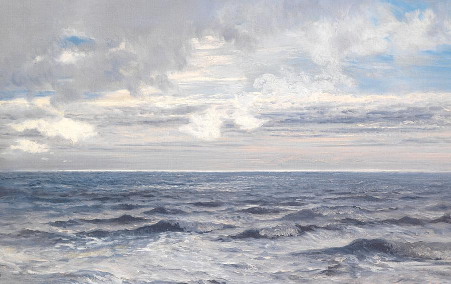 Silver Sea Painting