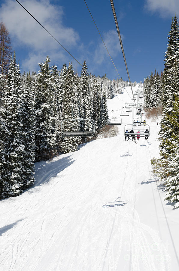 Vernon (BC) Canada  city photos : ... Chair Lift Silver Star Resort Vernon Bc Canada Photograph by Andy Smy