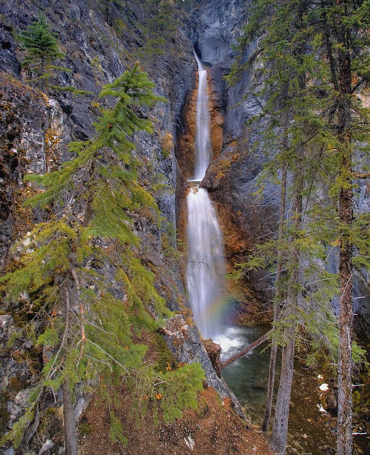 Silverton Waterfalls Banff National Photograph By Carson Ganci