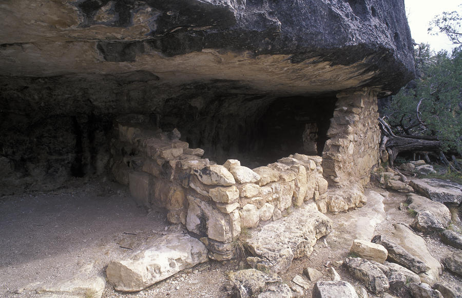 Sinagua Native Ruins Photograph