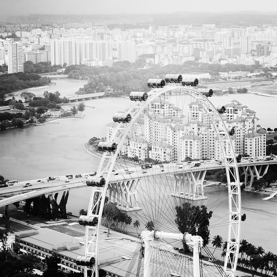 Singapore Flyer Photograph  - Singapore Flyer Fine Art Print