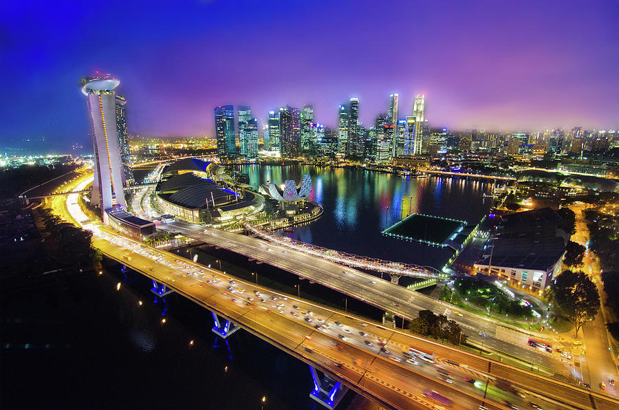 Singapore Flyer Photograph