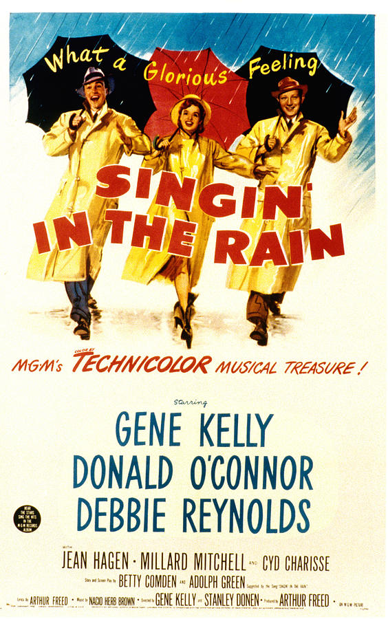 Singin In The Rain, Gene Kelly, Debbie Photograph  - Singin In The Rain, Gene Kelly, Debbie Fine Art Print