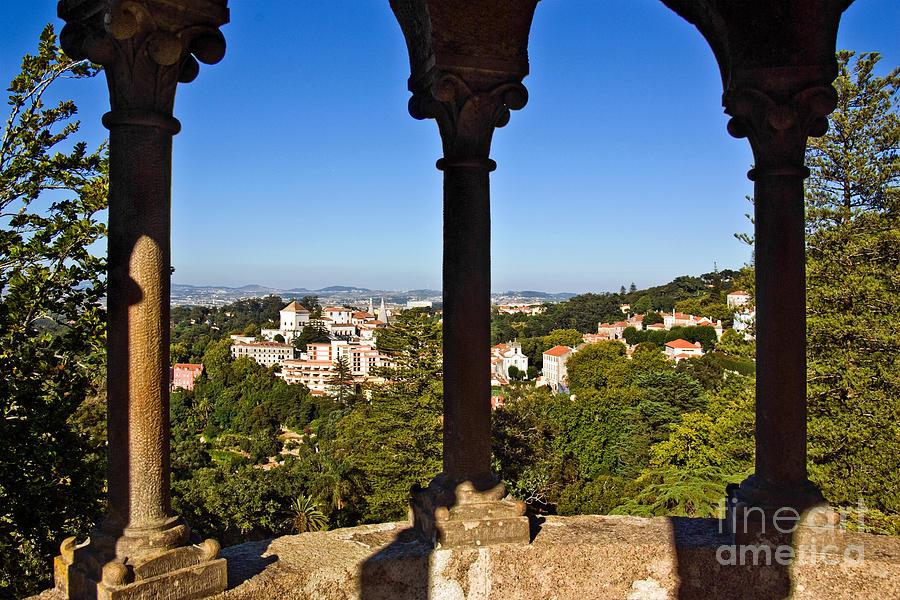 Sintra Balcony Photograph
