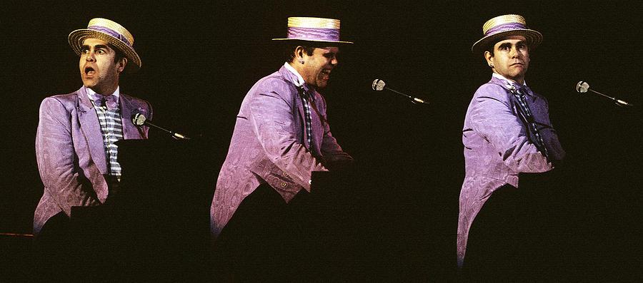 Sir Elton John 3 Photograph