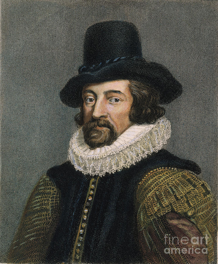 Sir Francis Bacon (1561-1626) Photograph