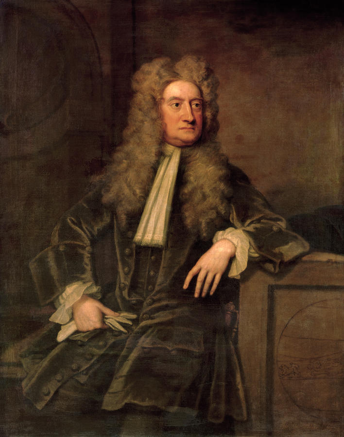 Sir Isaac Newton  Painting